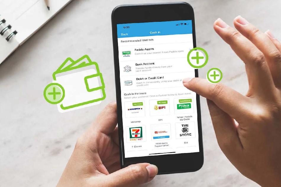PayMaya app on a smartphone. Handout photo