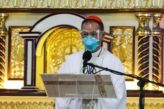 Cardinal Advincula thanks frontliners for 'heroism'