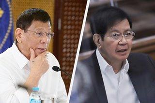 Ilang senador umalma sa bantang aresto ni Duterte