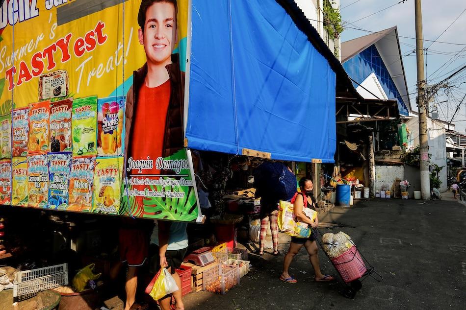 Paco Public Market sa Maynila noong Setyembre 14. Mark Demayo, ABS-CBN News