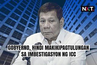 Gobyerno, hindi makikipagtulungan sa ICC investigation