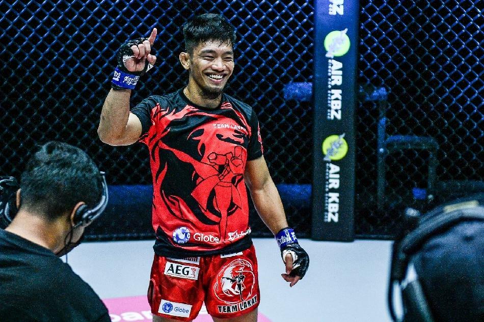 Filipino MMA fighter Lito Adiwang