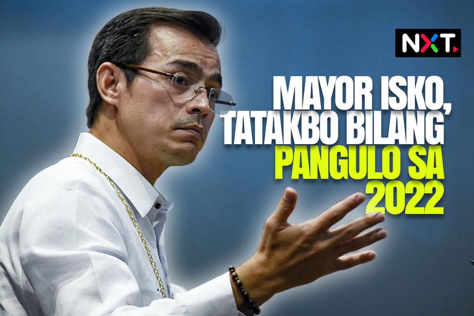 Mayor Isko, tatakbo bilang pangulo sa 2022