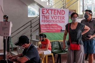 Online voter registration hub