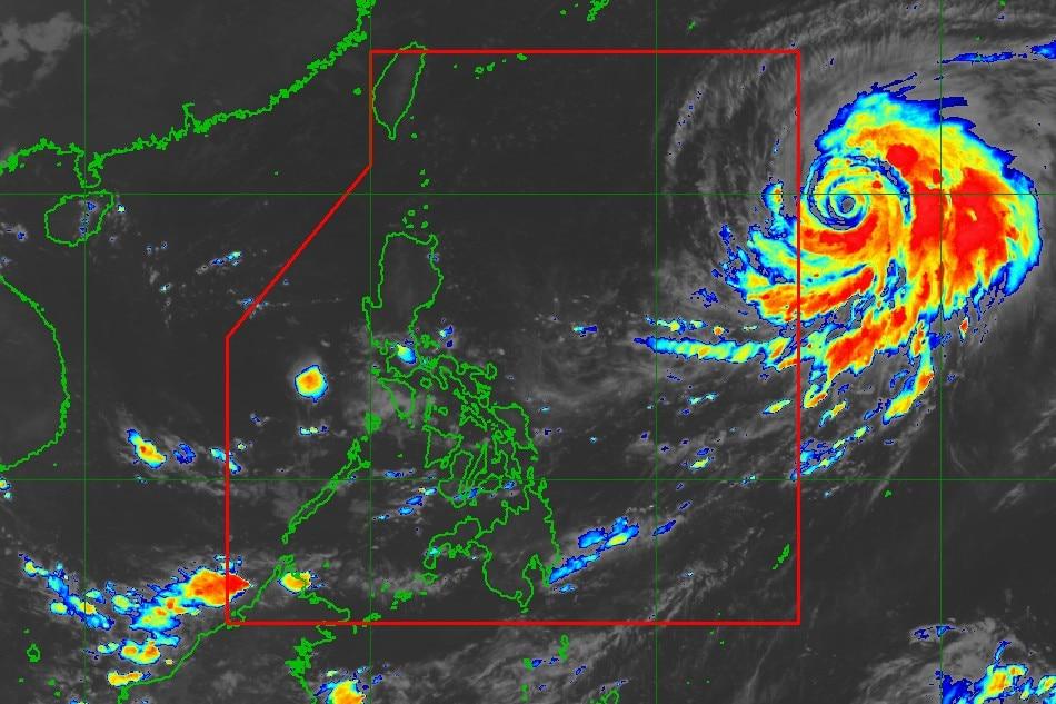 Typhoon forecast to enter PAR Tuesday: PAGASA