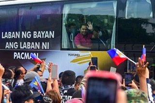 Pacquiao runs under Cebu-based party amid PDP squabble