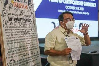 Neri Colmenares files candidacy for senator