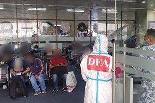91 Filipinos repatriated from Bahrain arrive in Manila