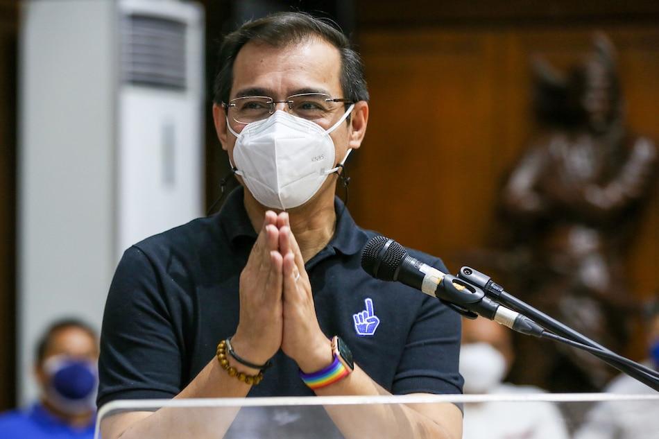 Presidential aspirant at Manila Mayor Isko Moreno noong Setyembre 23, 2021. Jonathan Cellona, ABS-CBN News/file