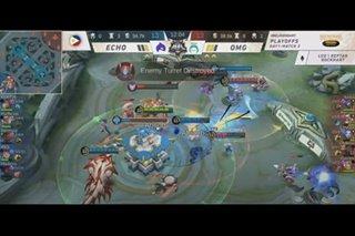 Mobile Legends: Omega eliminate Echo in MPL S8 playoffs