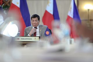 Duterte urges peace, stability in South China Sea under 2016 ruling