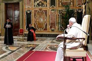 LOOK: Cardinal Tagle meets with Pope Francis on 60th anniversary of Pontificio Collegio Filippino