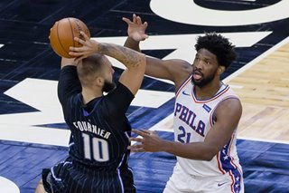 NBA: 76ers hand Magic first loss of season