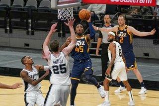 NBA: Jazz hand Spurs fourth straight loss