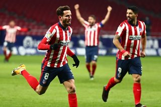 Football: Atletico tighten grip on La Liga lead with win over Sevilla