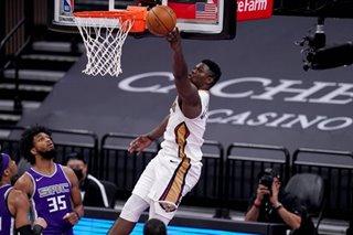 NBA: Zion Williamson scores 31 as Pelicans top Kings