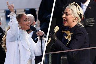 BALIKAN: Mga star-studded na pagtatanghal sa Biden inauguration