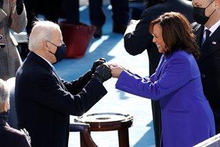 US Vice President Kamala Harris makes history