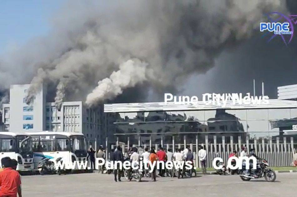 Fire breaks out at India's Serum Institute complex; COVID vaccine production unaffected