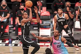 NBA: Nets rebound with high-scoring victory at Heat