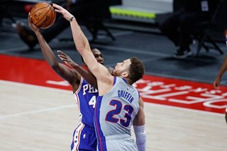 NBA: Pistons halt skid with triumph over Sixers