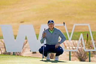 Golf: Sparkling Spieth shares Phoenix Open lead with Schauffele
