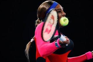Tennis: Serena comes through Halep test to reach semi-finals