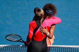 Tennis: Osaka ends Williams's record bid to make Australian Open final