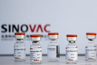 First batch in PH: COVID-19 vaccine from China's Sinovac to arrive Sunday