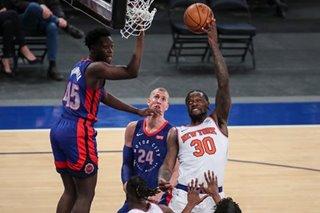 NBA: Julius Randle, Knicks knock off Pistons