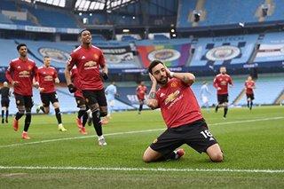Football: Man Utd shatter Man City's winning run, Liverpool crisis mounts