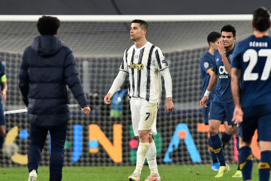 Football: Ronaldo silenced as Porto knock Juventus out of Champions League 1