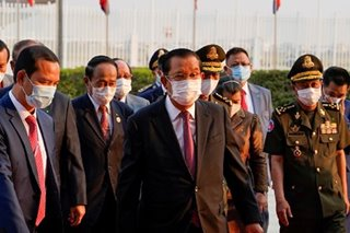 Cambodian PM threatens quarantine-breakers with jail
