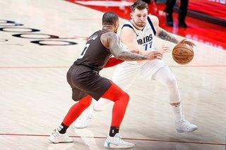 NBA: Luka Doncic's 3-pointer barrage leads Mavs past Blazers
