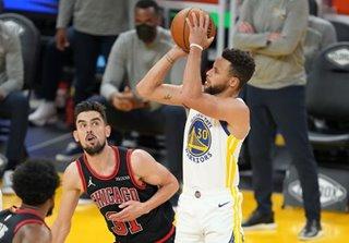 NBA: Stephen Curry scores 32 in return as Warriors top Bulls