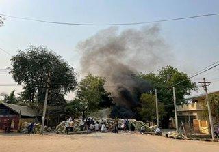 4 killed in Myanmar protests as junta cracks down on online critics