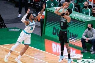 NBA: Jayson Tatum leads group effort as Celtics top Hornets