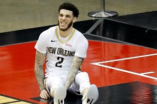 NBA: Lonzo Ball's long-range shooting lifts Pelicans over Rockets