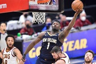 NBA: Zion Williamson pours in 38 as Pelicans defeat Cavs
