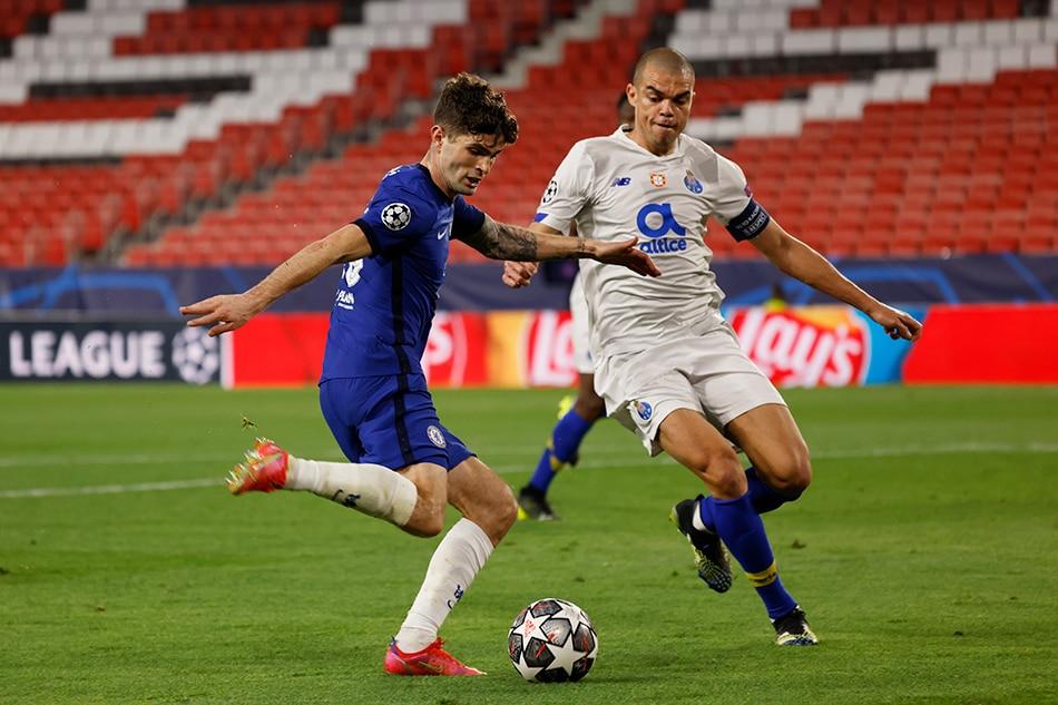Football: Chelsea see off Porto to reach semis despite Taremi stunner 1