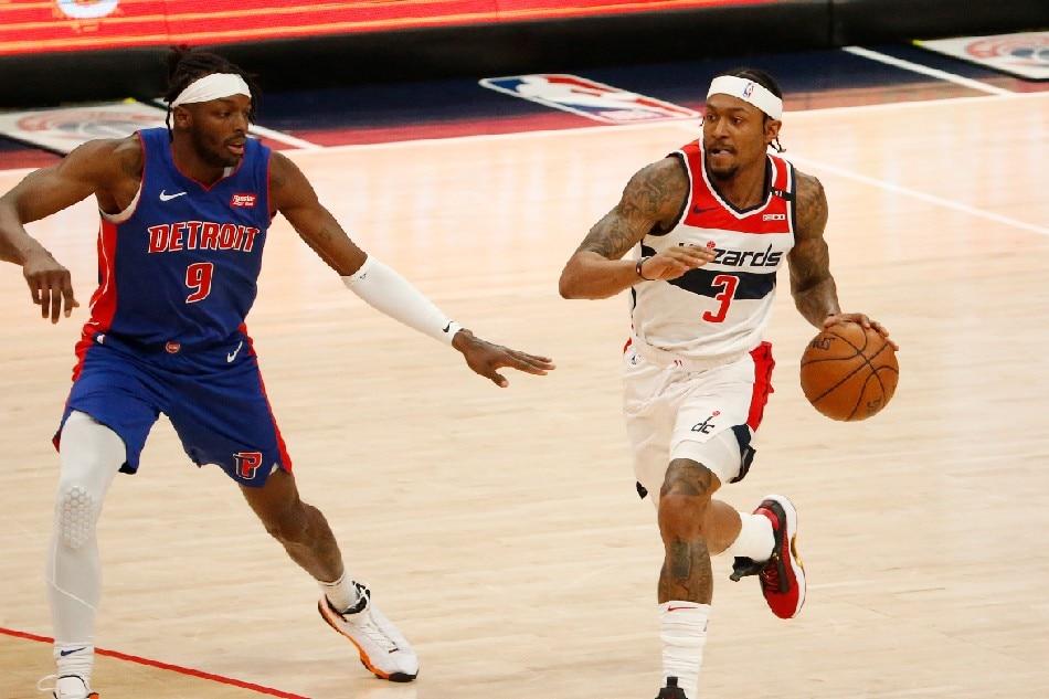 NBA: Bradley Beal scores 37 as Wizards sink Pistons 1