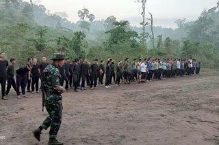 Fighting in Myanmar erupts near Thai border