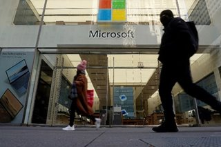 Microsoft profits jump as cloud services keep momentum