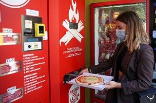 Fresh pizza vending machine prompts curiosity, horror in Rome
