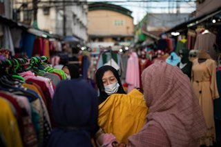 Preparing for Eid'l Fitr in Manila