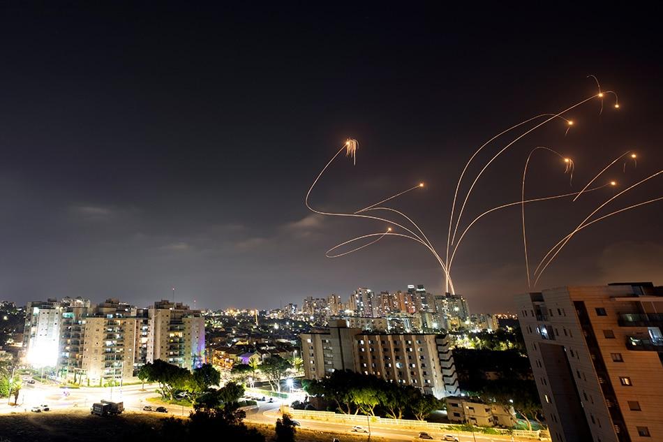 Israel's Iron Dome intercepts rockets
