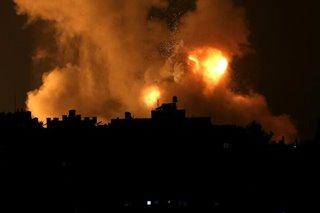 20 killed as Israel strikes Gaza after Hamas rocket barrage