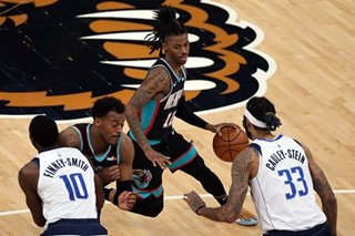 NBA: Grizzlies blow out Mavericks as Luka Doncic struggles