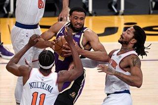 NBA: Talen Horton-Tucker thrives in OT as Lakers nip Knicks