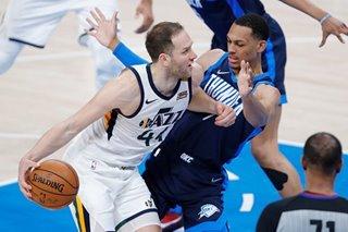 NBA: Bojan Bogdanovic fuels Jazz past reeling Thunder